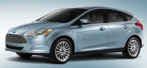 Ford Focus E electric car