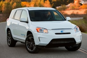 Toyota Rav4 EV electric SUV