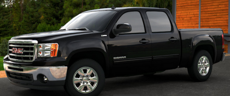 gmc hybrid pick up truck 2013