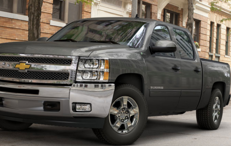 silverado hybrid pick up truck 2013