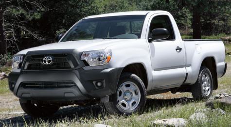 toyota tacoma pick up truck