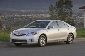 Toyota Camry Hybrid Courtesy of Toyota