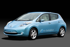 Nissan Leaf Electric Courtesy Nissan