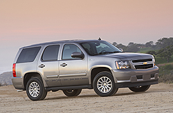 2010 Chevrolet Tahoe Hybrid Courtesy General Motors