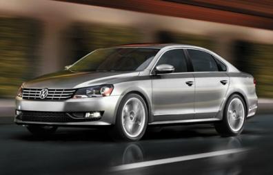 Volkswagen Passat TDI diesel 2012