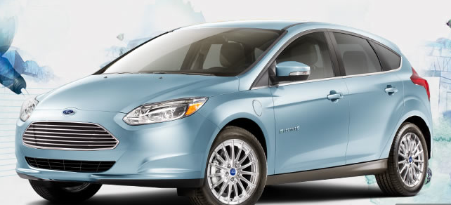 2013 ford focus electric car