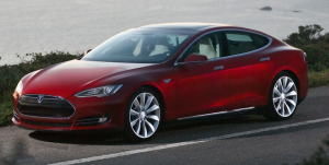 2013 Tesla Model S Electric Car