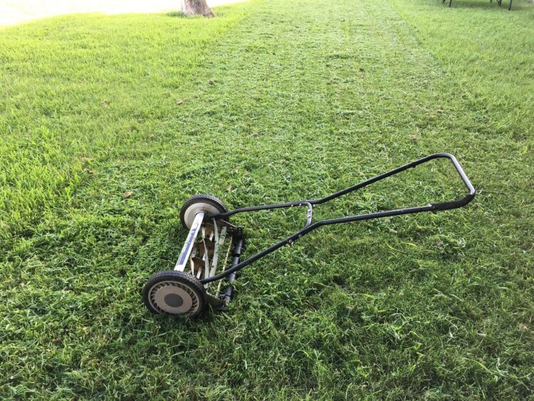 reel mower that doesn't require power